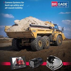 rear backup camera, Brigade backup camera
