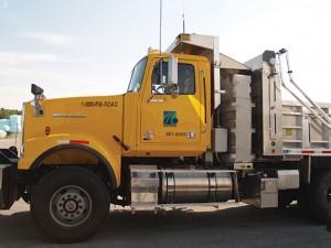 truck mounted pre-wet